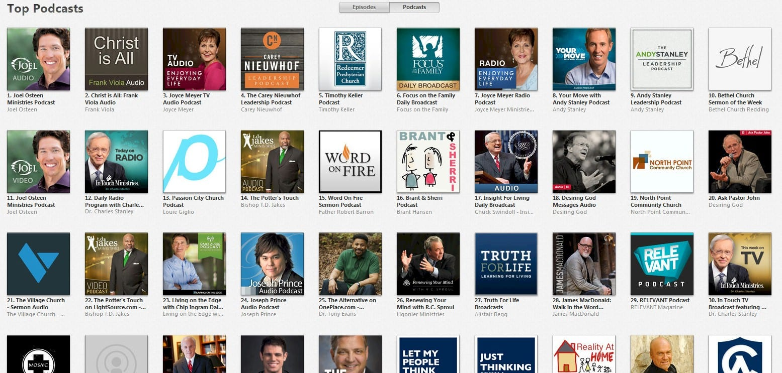 how to change podcast info on itunes